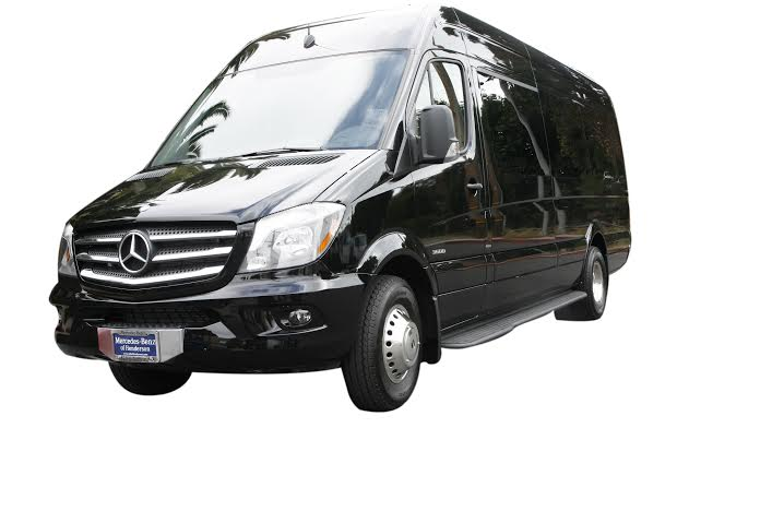 New Sprinter on White