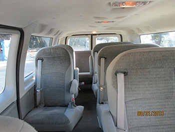 Shuttle-van-interior