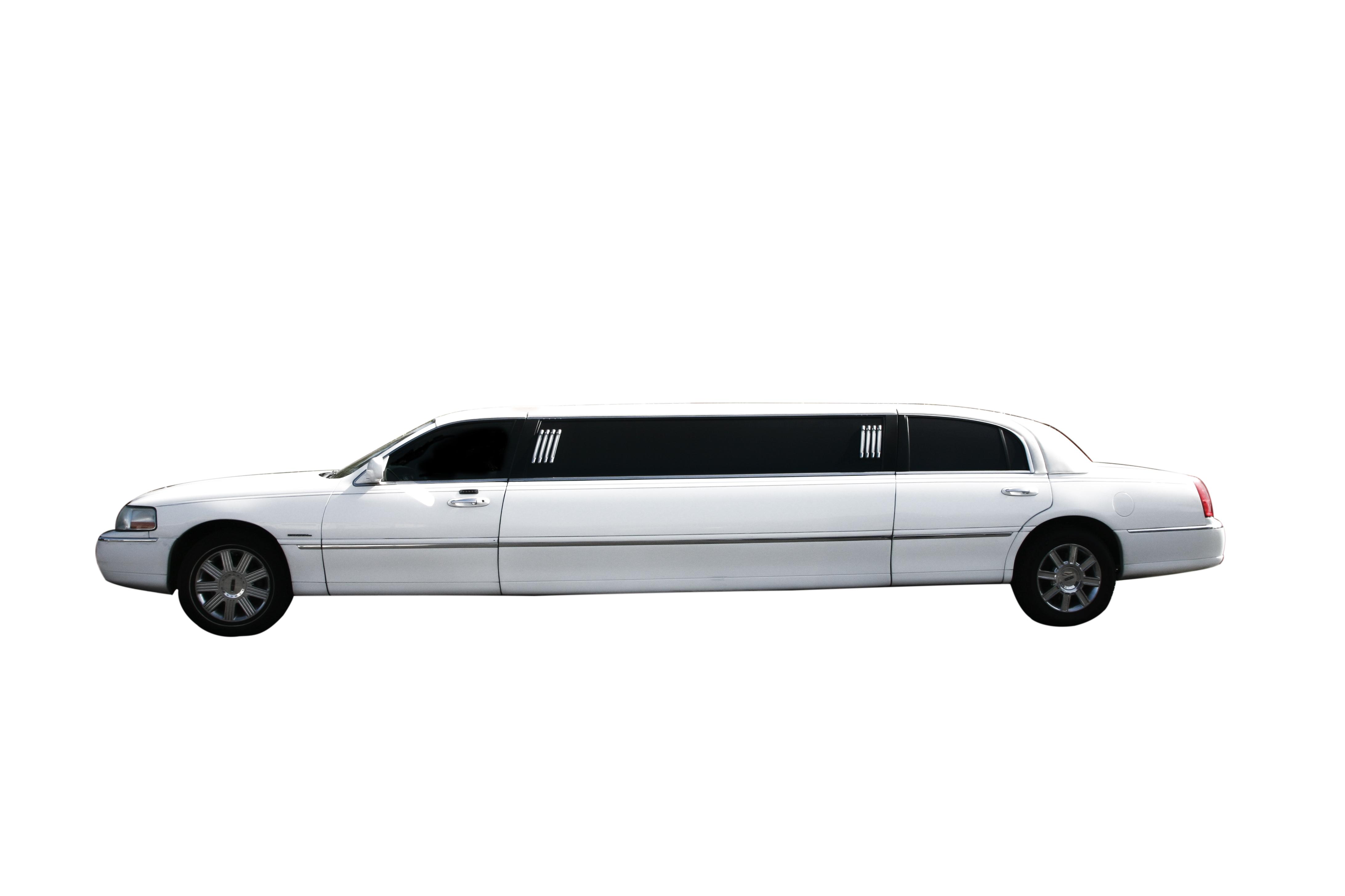 white limo on white